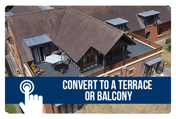 Convert to a Terrace or Balcony