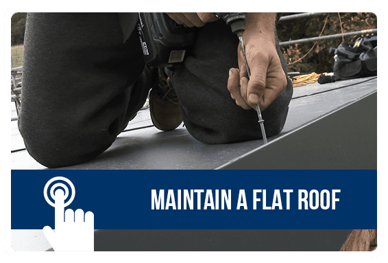 Maintain a Flat Roof